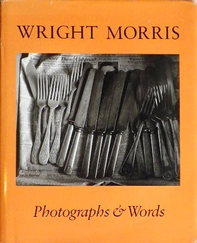WRIGHT MORISS  Phohtographs & Words  限定版 ライト・モリス