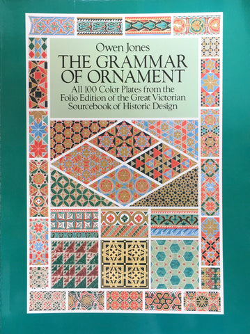 The Grammar of Ornament Dover