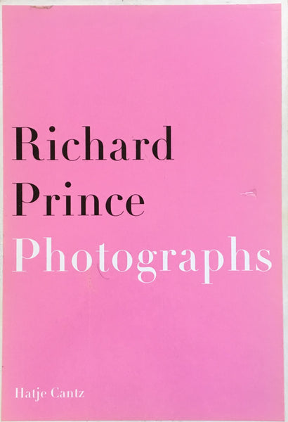 リチャード・プリンス Richard Prince Painting Photographs