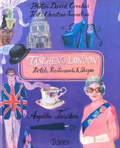 Taschen's London Hotels, Restaurants & Shops