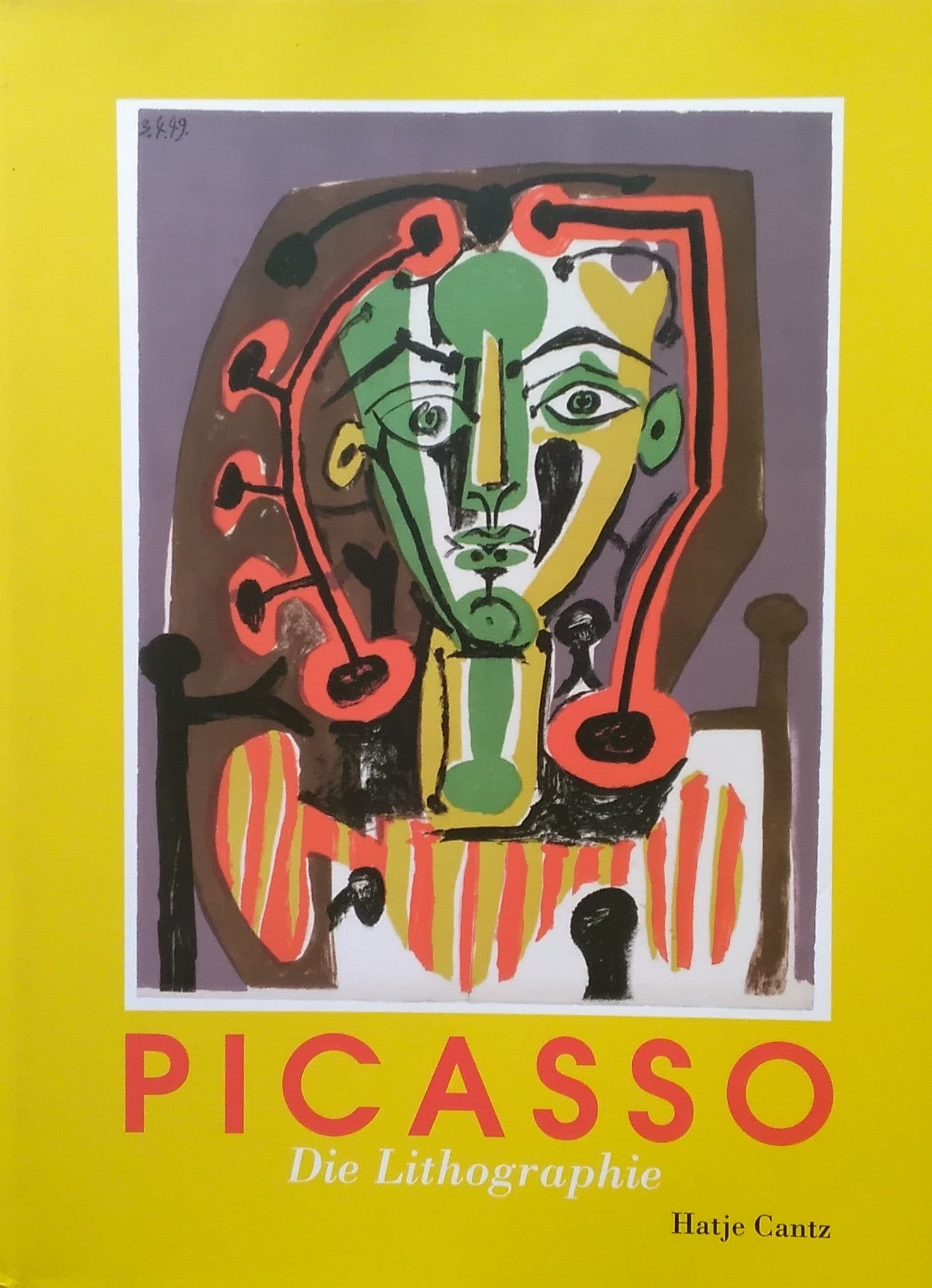 Pablo Picasso Die Lithographie パブロ・ピカソ