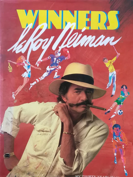 WINNERS My thirty years in sports LeRoy Neiman リロイ・ニーマン