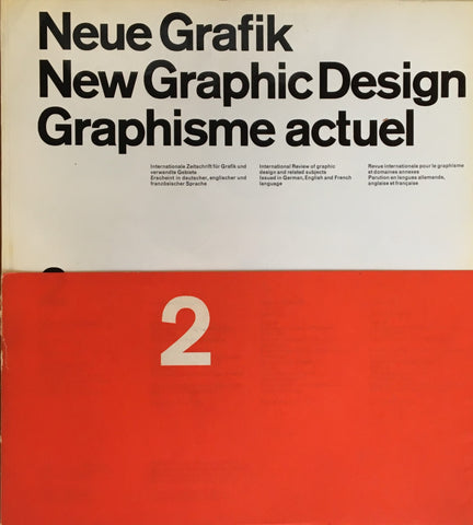 Neue Grafik/New Graphic Design/Graphisme actuel  no.2