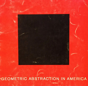GEOMETRIC ABSTRACTION IN AMERICA展 カタログ