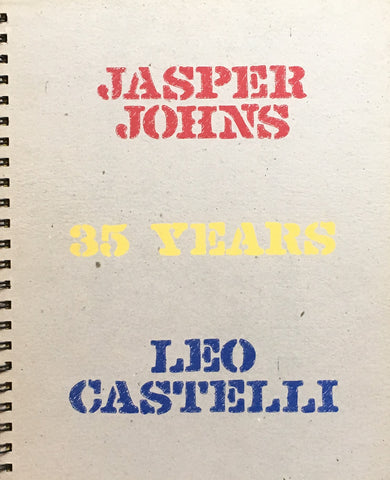 Jasper Johns 35 Years Leo Castelli ジャスパー・ジョーンズ