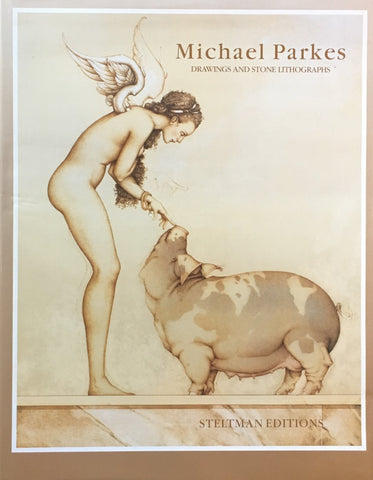 Michael Parkes Drawing and Stone Lithographs