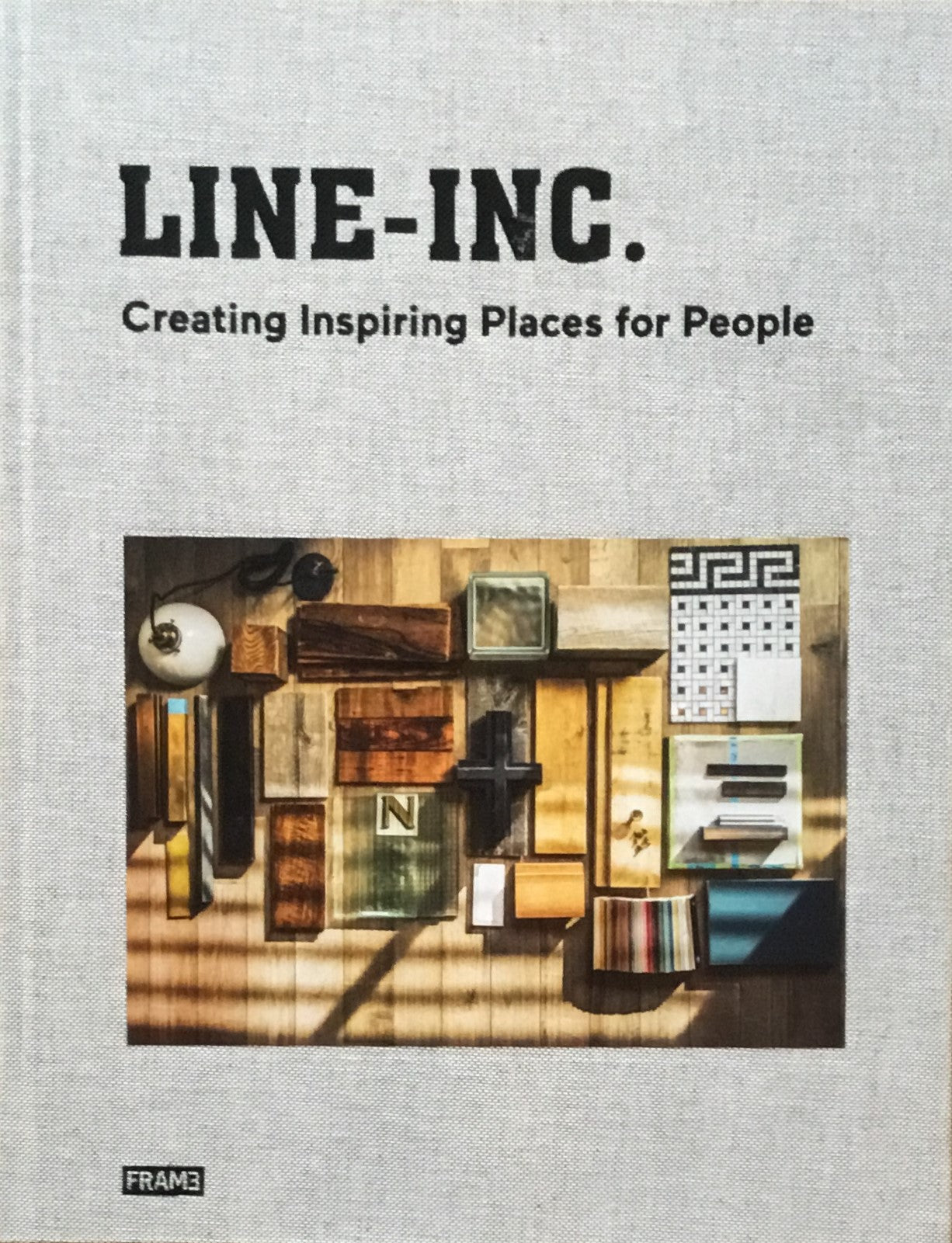 LINE-INC Creating Inspring Places for People 日本語冊子付