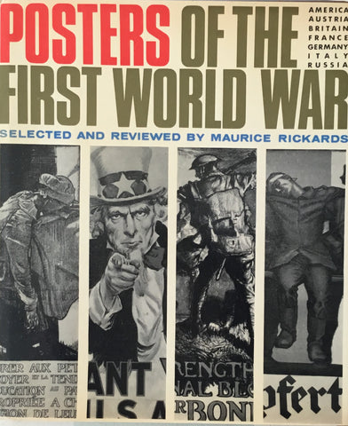 POSTERS THE FIRST WORLDWAR MAURICE RICKARDS 第一次世界大戦のポスター