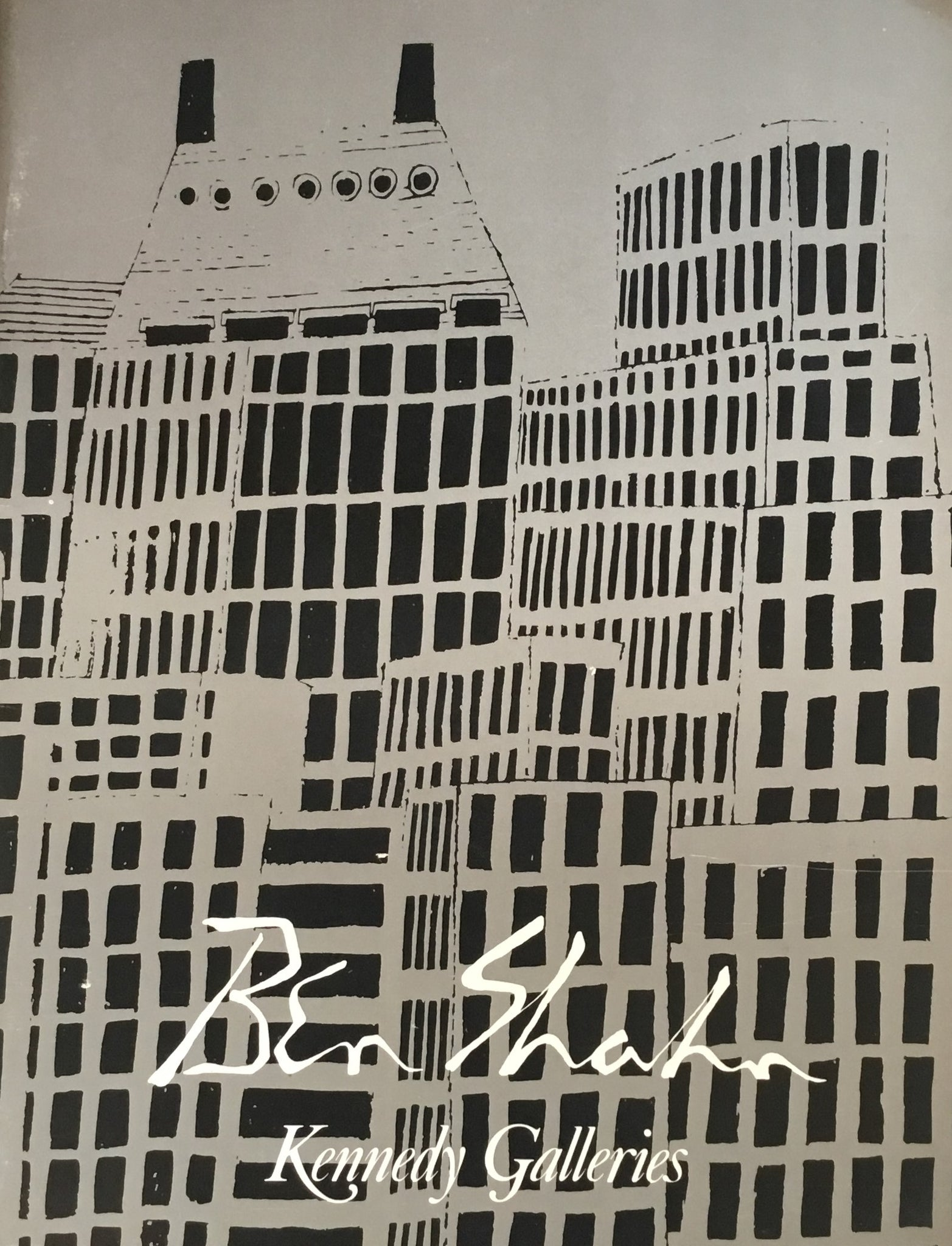 The Drawing of Ben shahn Kennedy Galleries ベン・シャーン