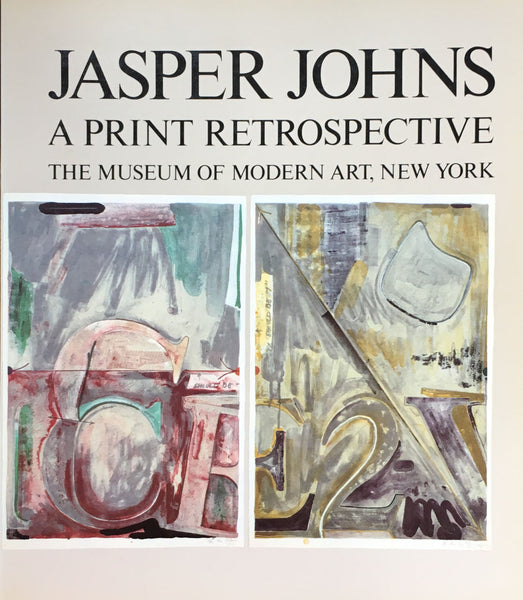 JASPER JOHNS A PRINT RETROSPECTIVE THE MUSEUM OF MODERN ART,NEW YORK ジャスパー・ジョーンズ プリント回顧展