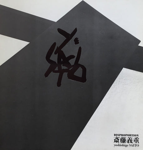 斎藤義重 DISPROPORTION yoshishige SAITO 東京画廊