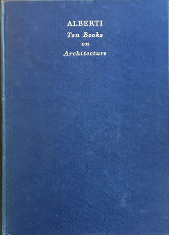 ALBERTI Ten Books on Architecture
