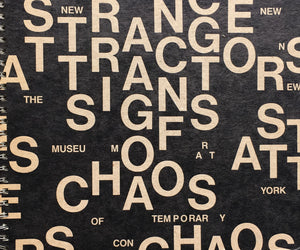 Strange Attractors Signs of Chaos The New Museum of Contemporary Art ,New York 1989