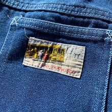 Load image into Gallery viewer, Vintage 70s San Francisco Flair Style Denim Jeans