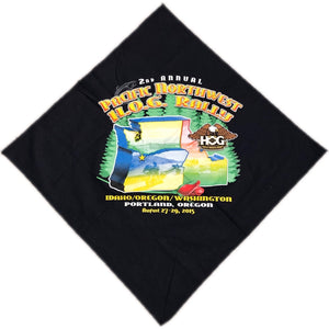 '15 Pacific Northwest HOG Rally Motorcycle Bandana