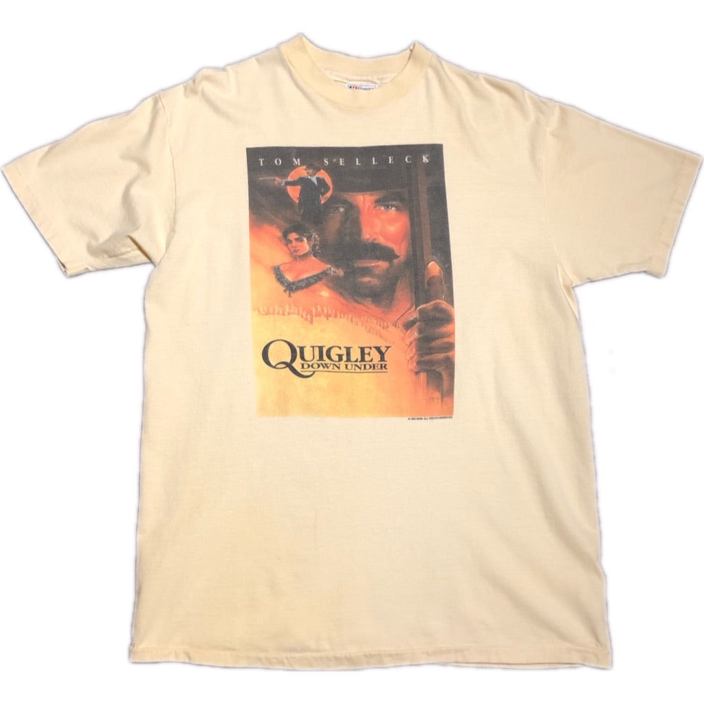 '90 Quigley Down Under Tom Selleck Cowboy Movie Film Tee