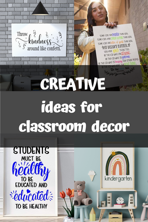 Creative Classroom Decor Ideas for Back to school Decorations