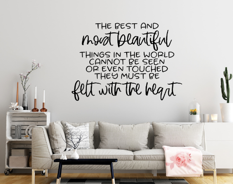 Family wall decal, Inspirational quotes for walls, family room decal