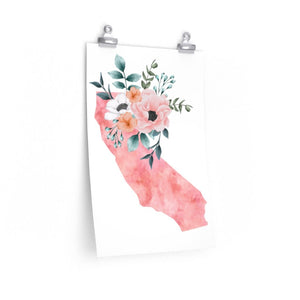 California Home State Print - The Artsy Spot