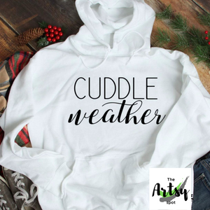 Cuddle Weather Hoodie - The Artsy Spot