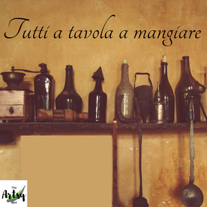 Tutti a tavola a mangiare wall decal, Everyone to the table to eat Italian quote decal, Family decal sticker, Italian decal