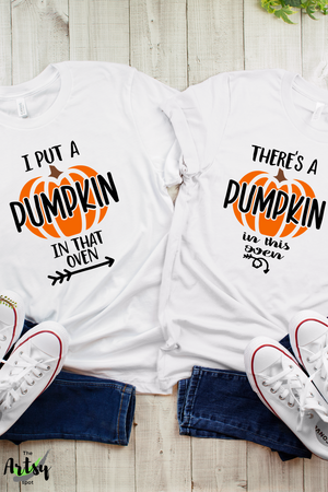 mommy-to-be shirt, funny maternity shirt for fall, baby reveal shirt for Dad