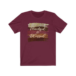 Thankful and blessed shirt, Thanksgiving shirt, Cute fall shirt, cute fall shirt
