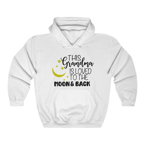 This Grandma is loved to the moon and back sweatshirt, Grandma hoodie