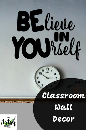 Believe in Yourself Wall Decal - The Artsy Spot