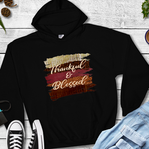 Thankful and blessed hoodie, cute fall hoodie, thanksgiving sweatshirt, hoodie for fall