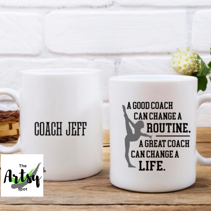 Gymnastics Coach gift, Gymnastics Coach quote coffee mug