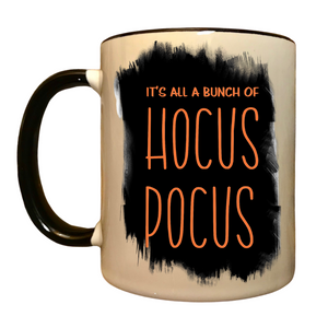 It's all a bunch of Hocus Pocus mug, funny Halloween mug, funny Hocus Pocus coffee mug, Funny Fall gift,  funny Halloween gift for wife