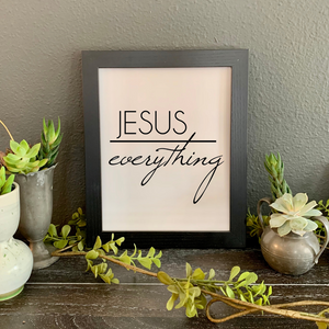 Jesus over everything Picture, Christian faith Quote picture