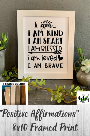 I Am Statements, Positive Affirmations picture