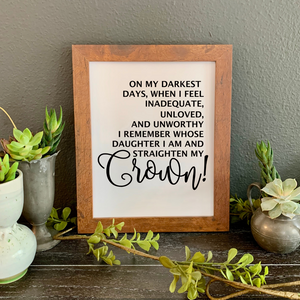 Christian girl's bedroom decor, Christian woman's office decor