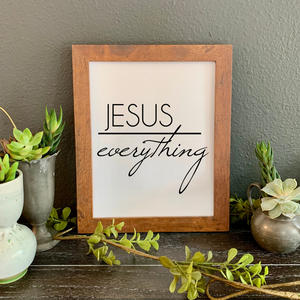 Jesus quote picture, Christian quote picture, Christian home decor