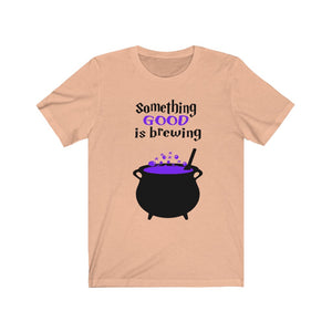 Something Good is Brewing shirt, Halloween maternity shirt, Halloween pregnancy shirt, Maternity Halloween shirt, funny maternity shirt, Maternity Halloween costume,
