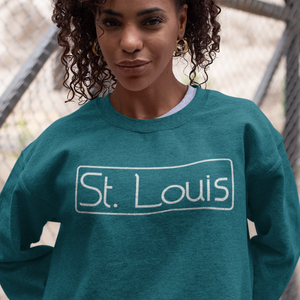 St. Louis sweatshirt, St. Louis shirt, St. Louis apparel, St. Louis gift, Saint Louis apparel, trendy st. louis shirt