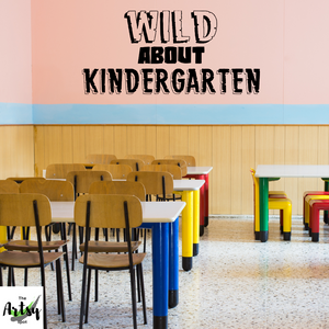 Wild about Kindergarten decal, Kindergarten jungle theme decor, Classroom jungle Decal, school jungle decal, Wild things decal, ANY GRADE