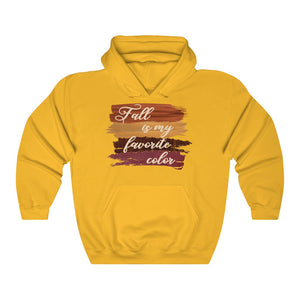 Fall is my favorite color sweatshirt, I love fall hoodie, fall hoodie, fall hooded sweatshirt, hoodie for fall