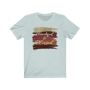 Thankful and blessed shirt, Thanksgiving shirt, Cute fall shirt, blessed t-shirt
