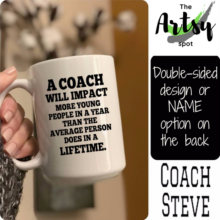 Coach Quote Coffee Mug