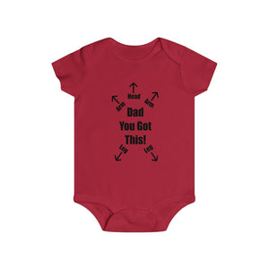 Dad You Got This Onesie, Funny Gift for Dad - The Artsy Spot