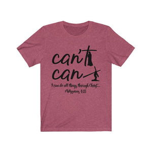 I can do all things through Christ shirt, Christian based apparel