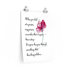Cancer survivor quote, Alzheimer's quote, The Artsy Spot