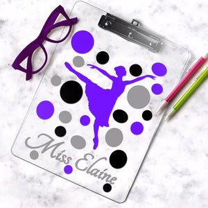 Dance Clipboard - The Artsy Spot