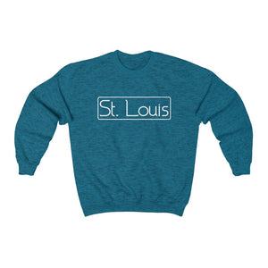 St. Louis sweatshirt, St. Louis shirt, St. Louis apparel, St. Louis gift, Saint Louis apparel, Saint Louis gift