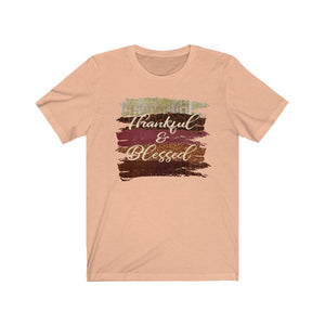 Thankful and blessed shirt, Thanksgiving shirt, Cute fall shirt, fall clothing