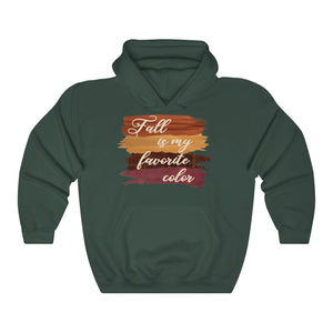Fall is my favorite color sweatshirt, I love fall hoodie, fall hoodie, sweatshirt for fall