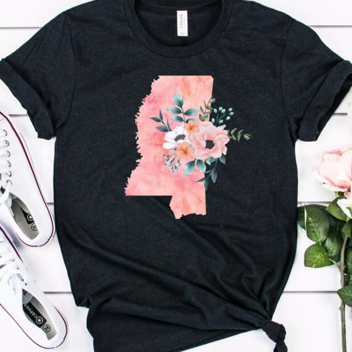 Mississippi Home State Shirt